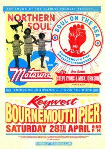 SOS Northern Soul April poster