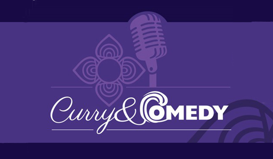 Curry and comedy night